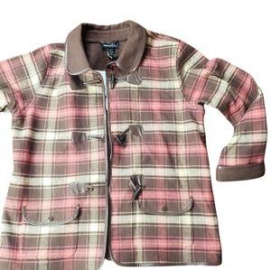 Denim & Co Women's Plaid Jacket